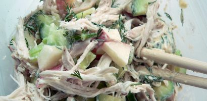 Detox & Weight Loss Recipe 6: Chicken and Avocado Salad