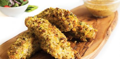 Detox & Weight Loss Recipe 8: Chicken Strips and Pistachio
