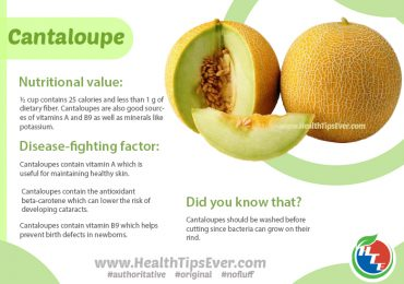 Cantaloupe – Health Benefit with Infographics