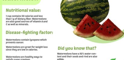 Watermelon Health Benefits with Infographics