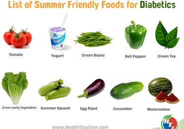 List of Summer Friendly Foods for Diabetics