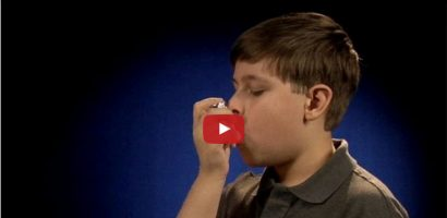 CDC.gov's guidelines to use a Metered dose Asthma Inhaler with Video