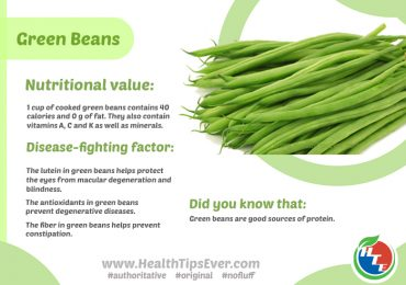 Green Beans Nutritional Value