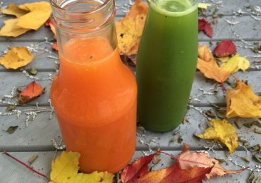 Natural Liver Cleansing Recipe 8: Carrot, Apple and Bell Pepper Juice
