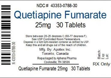 Quetiapine- A Second Generation Antipsychotic