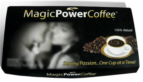 Magic Power Coffer for Longer Sex on Amazon